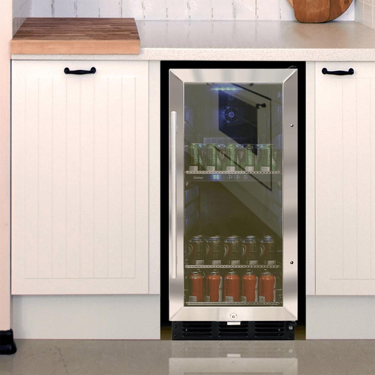 Lovely ... Beverage Cooler Kitchen Designs And Remodeling