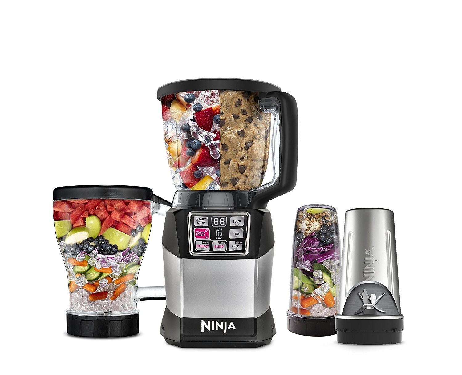 Nutri Ninja Auto-iQ Compact System (BL492) | Quench Essentials