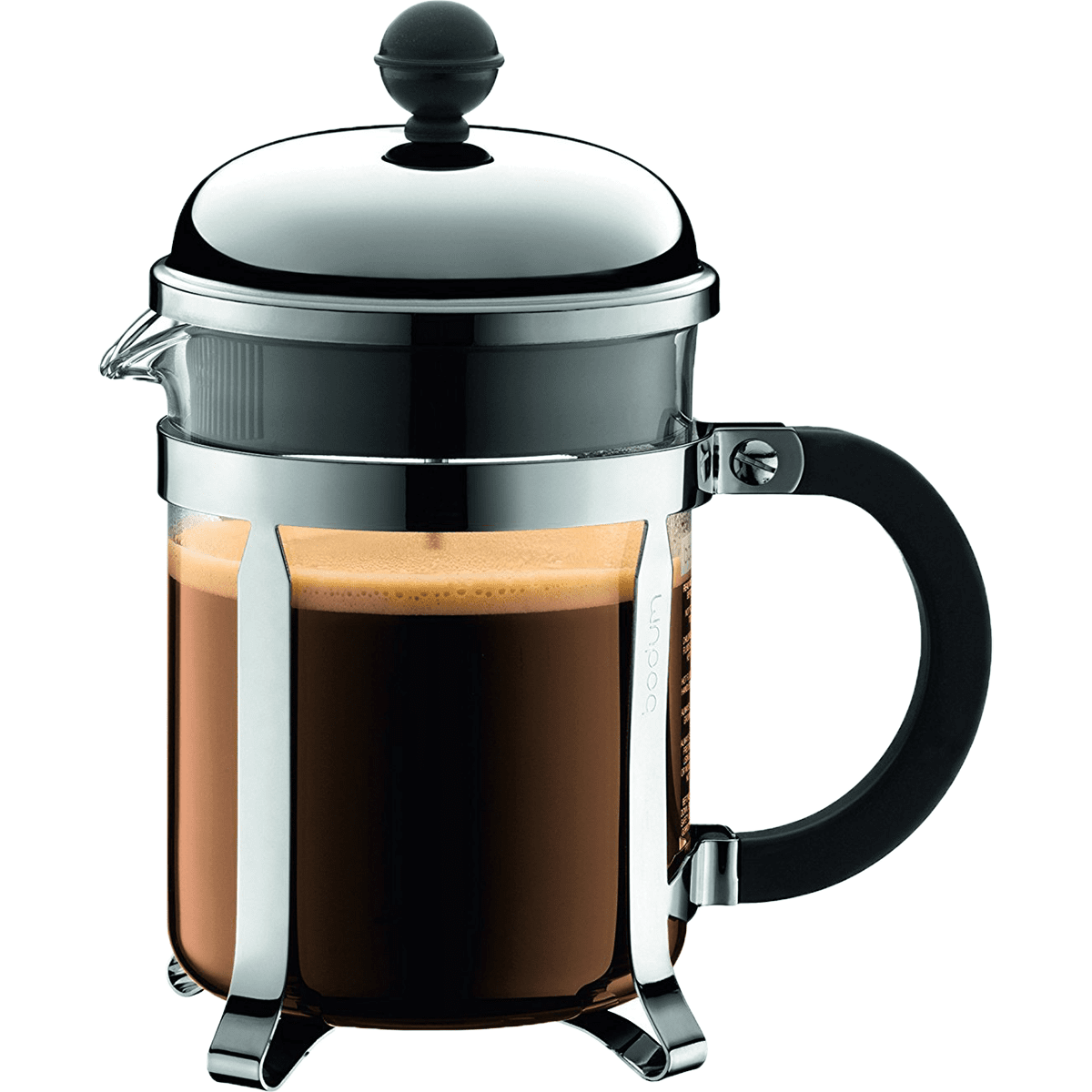 Bodum Chambord Stainless French Press - 4 Cup Shiny