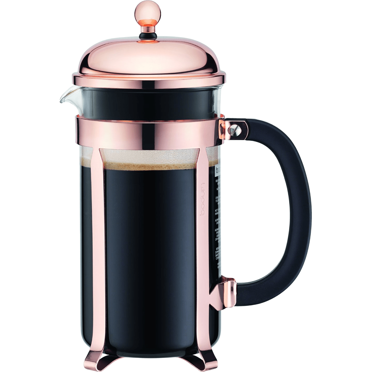 Bodum 8 Cup Chambord Copper French Press