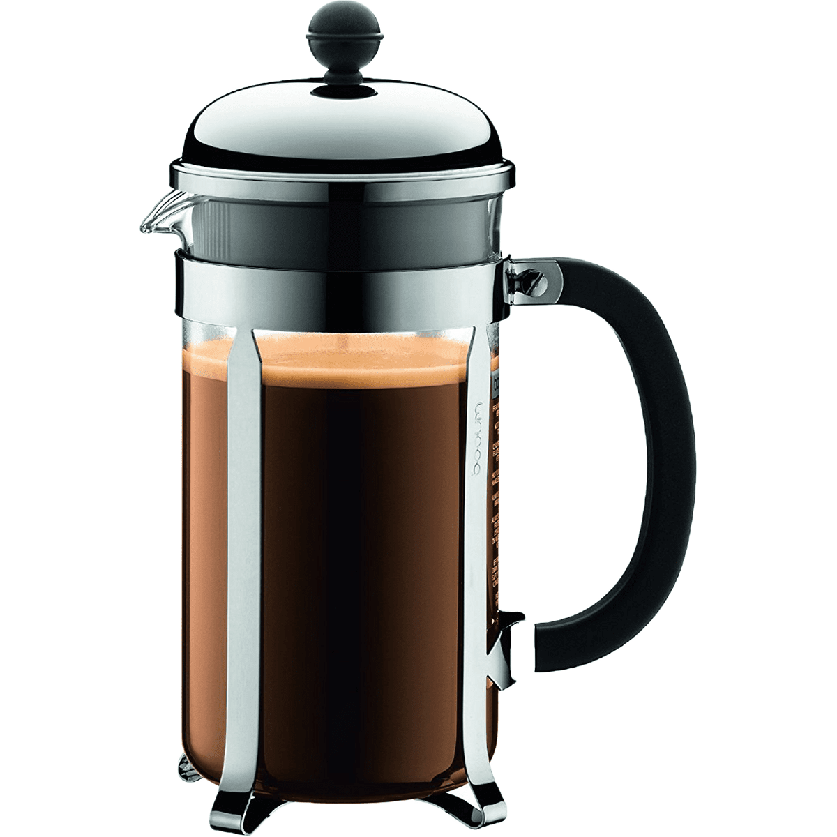 Bodum Chambord Stainless French Press - 8 Cup Shiny
