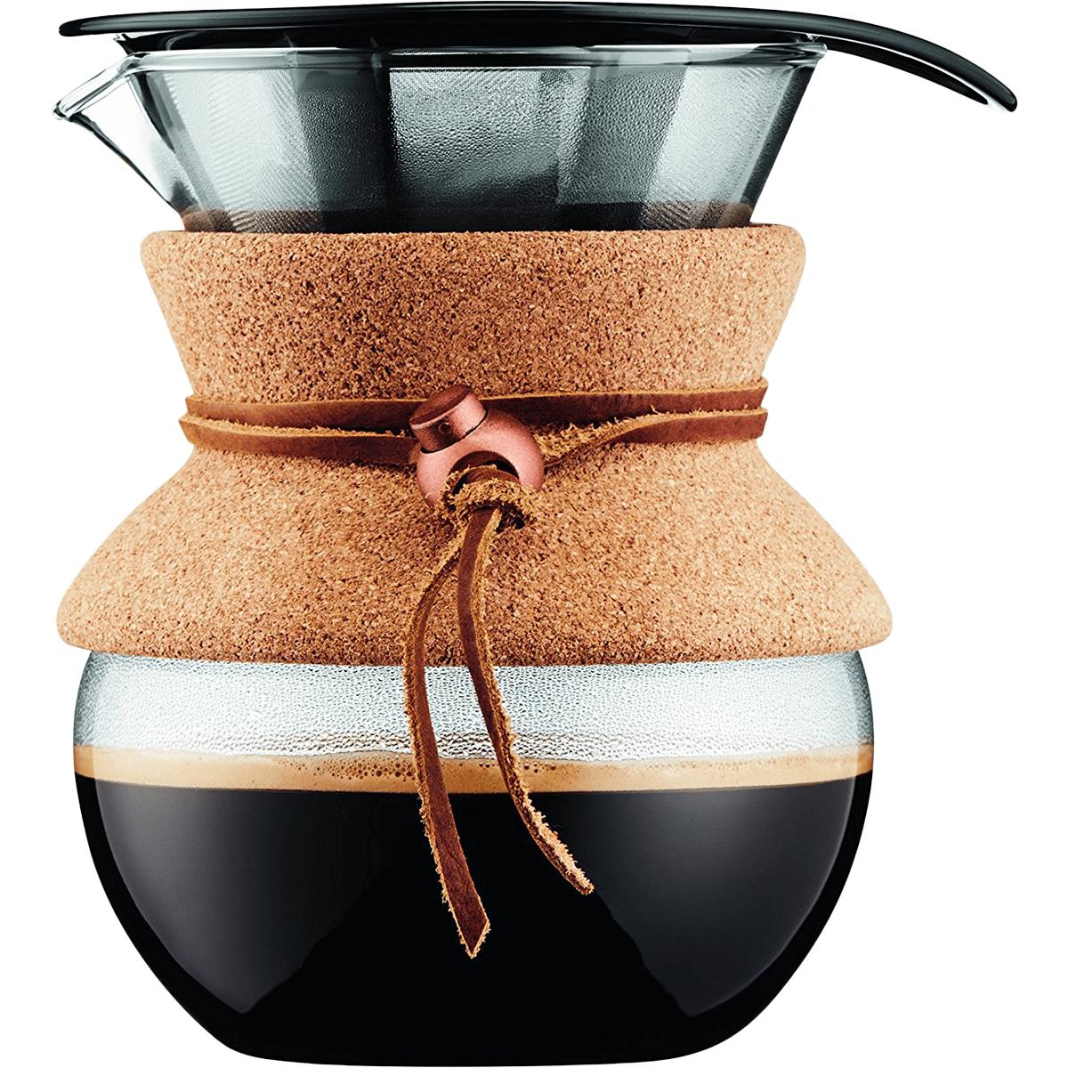 Bodum Cork Series Pour Over Coffee Maker - 17 Oz.