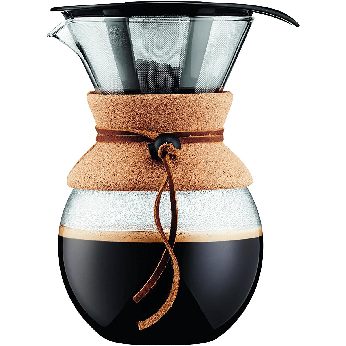 Bodum Cork Series Pour Over Coffee Maker - 34 Oz.