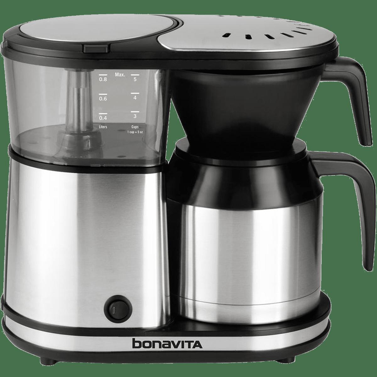 Bonavita 5-Cup Coffee Maker (BV1500TS) Quench Essentials