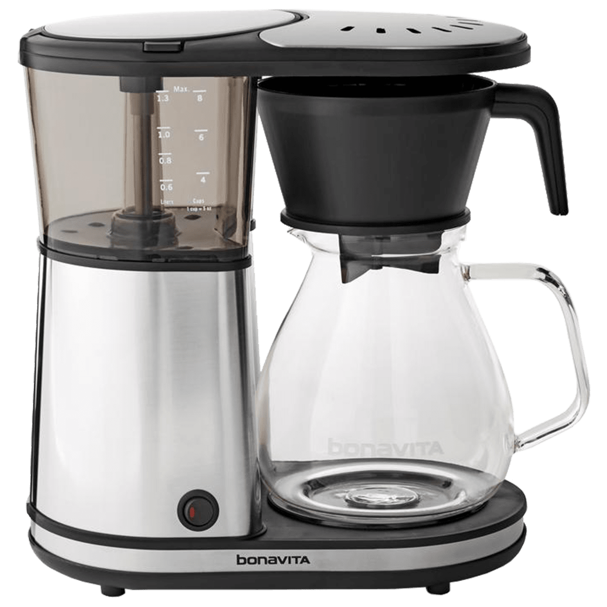 glass coffee maker bonavita 8 cup glass coffee maker free shipping quench 29294