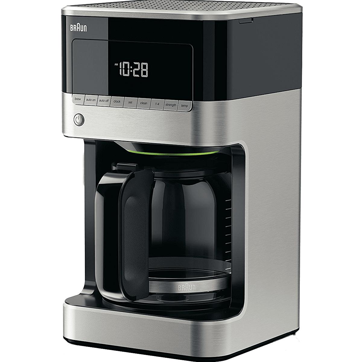 Braun BrewSense 12-Cup Drip Coffee Maker - Stainless (KF7150BK)
