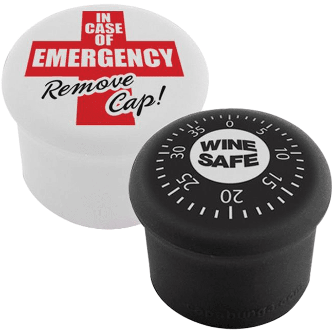 CapaBunga Wine Sealers - Emergency / Safe