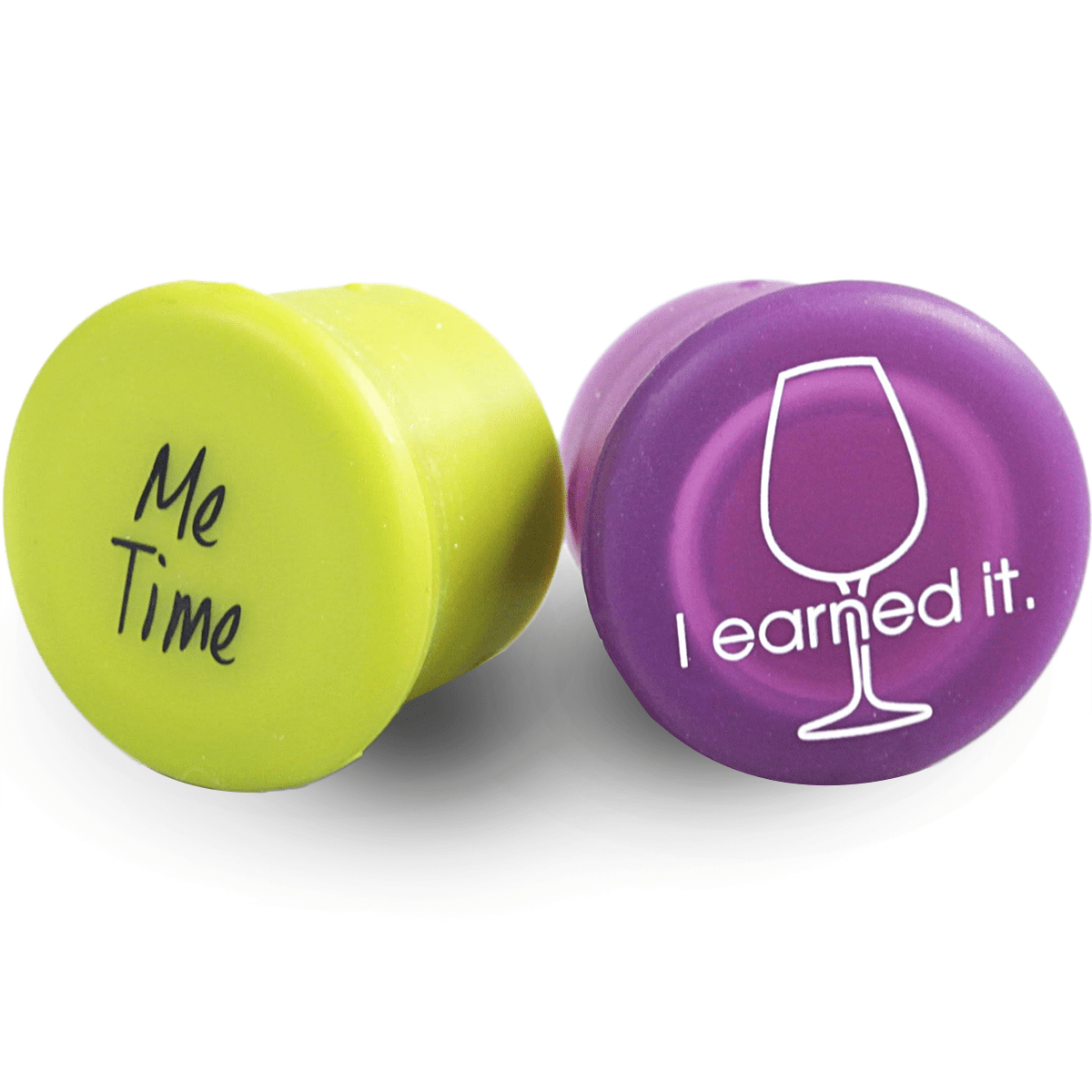 Capabunga Wine Sealers - Me Time / I Earned It