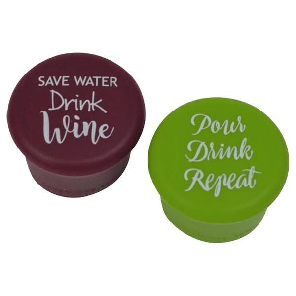 Capabunga Wine Sealers - Save Water / Pour