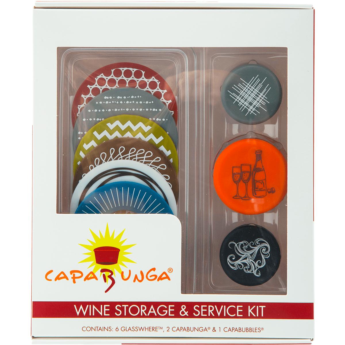 Capabunga Wine Storage And Service Kit - Designs