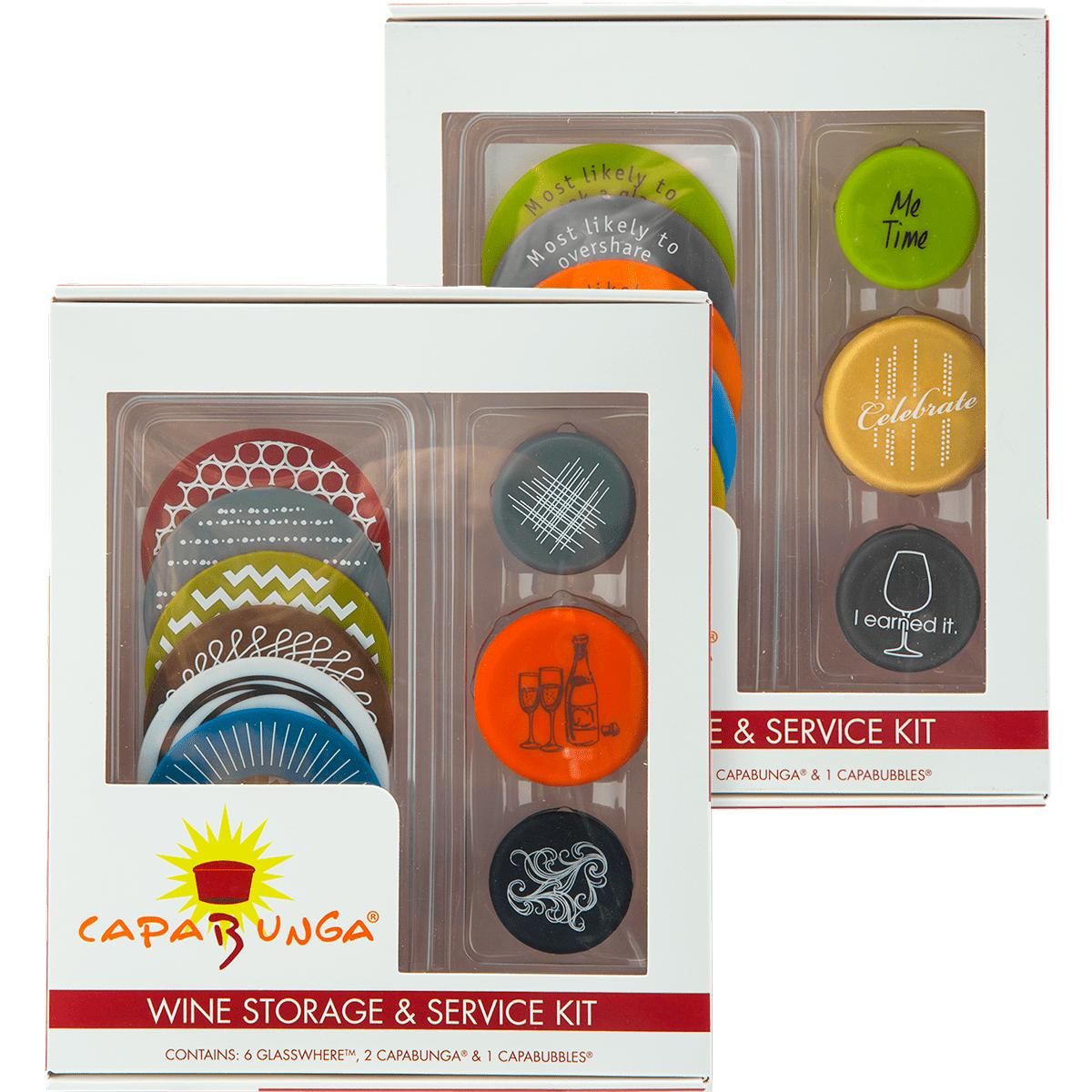 Capabunga Wine Storage And Service Kit