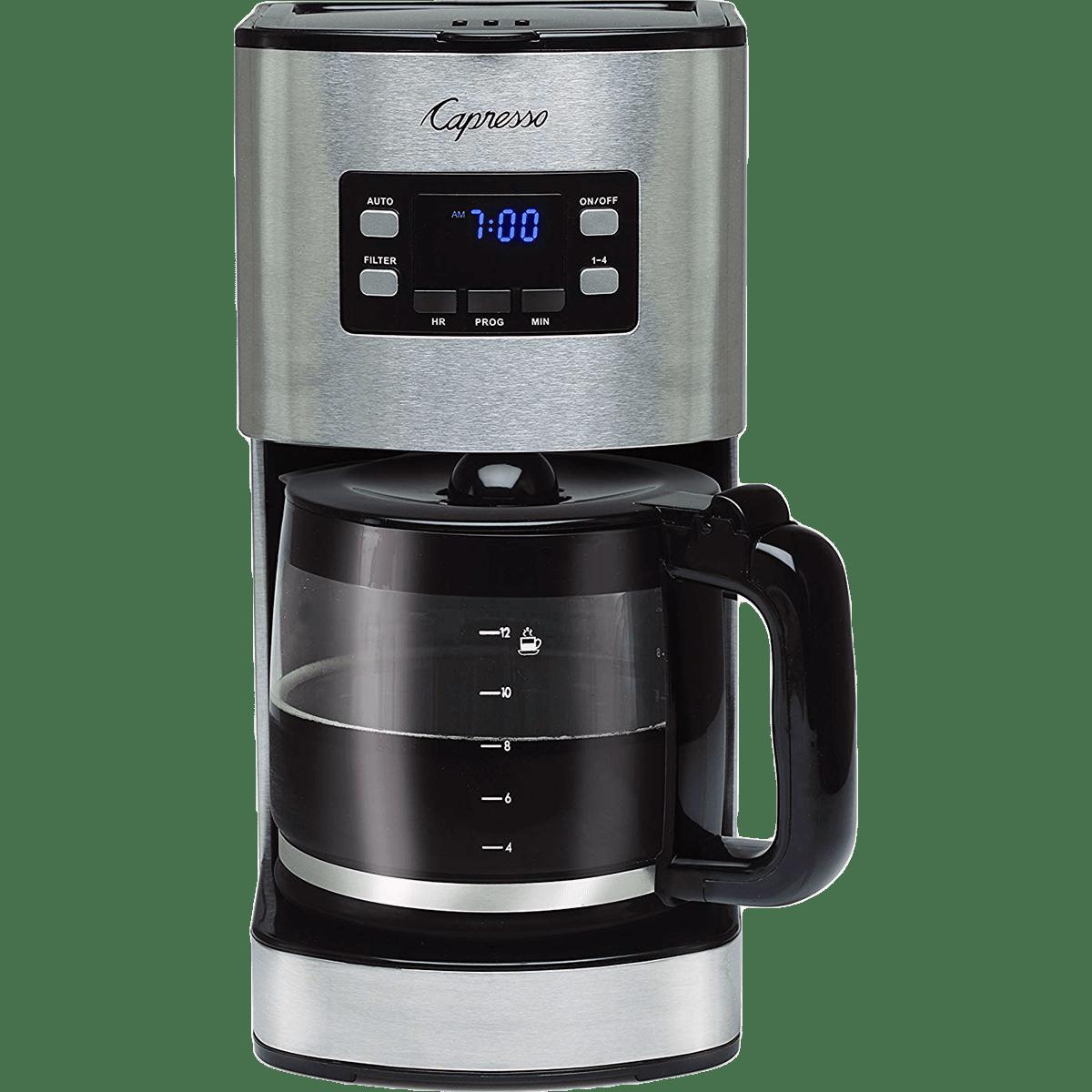 Capresso 427.05 Coffee Maker Stainless Steel