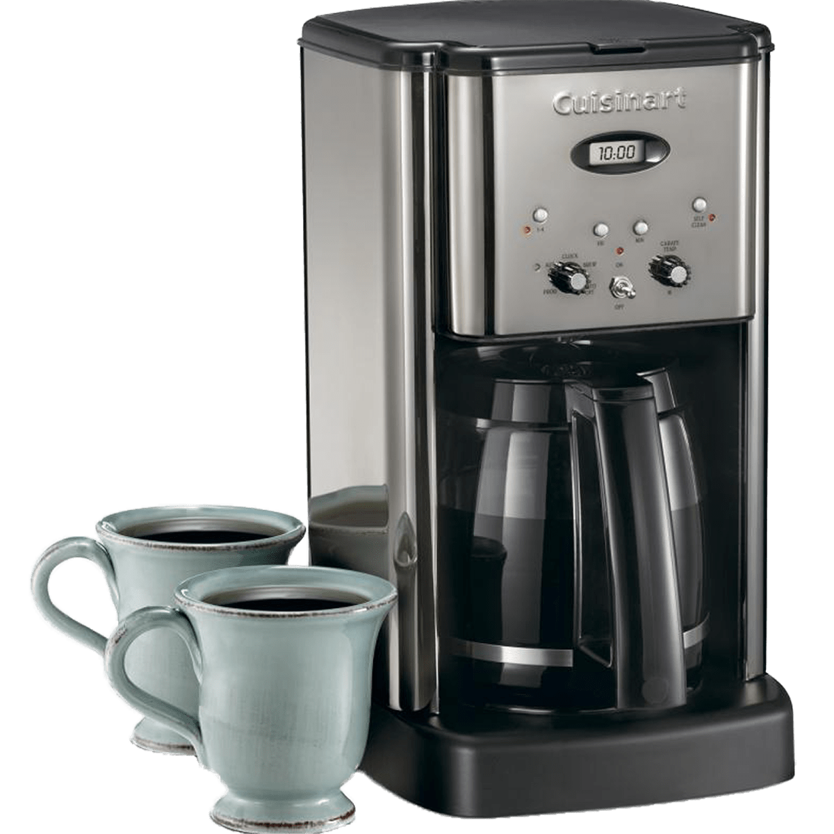 Cuisinart Brew Central Coffeemaker Stainless Steel