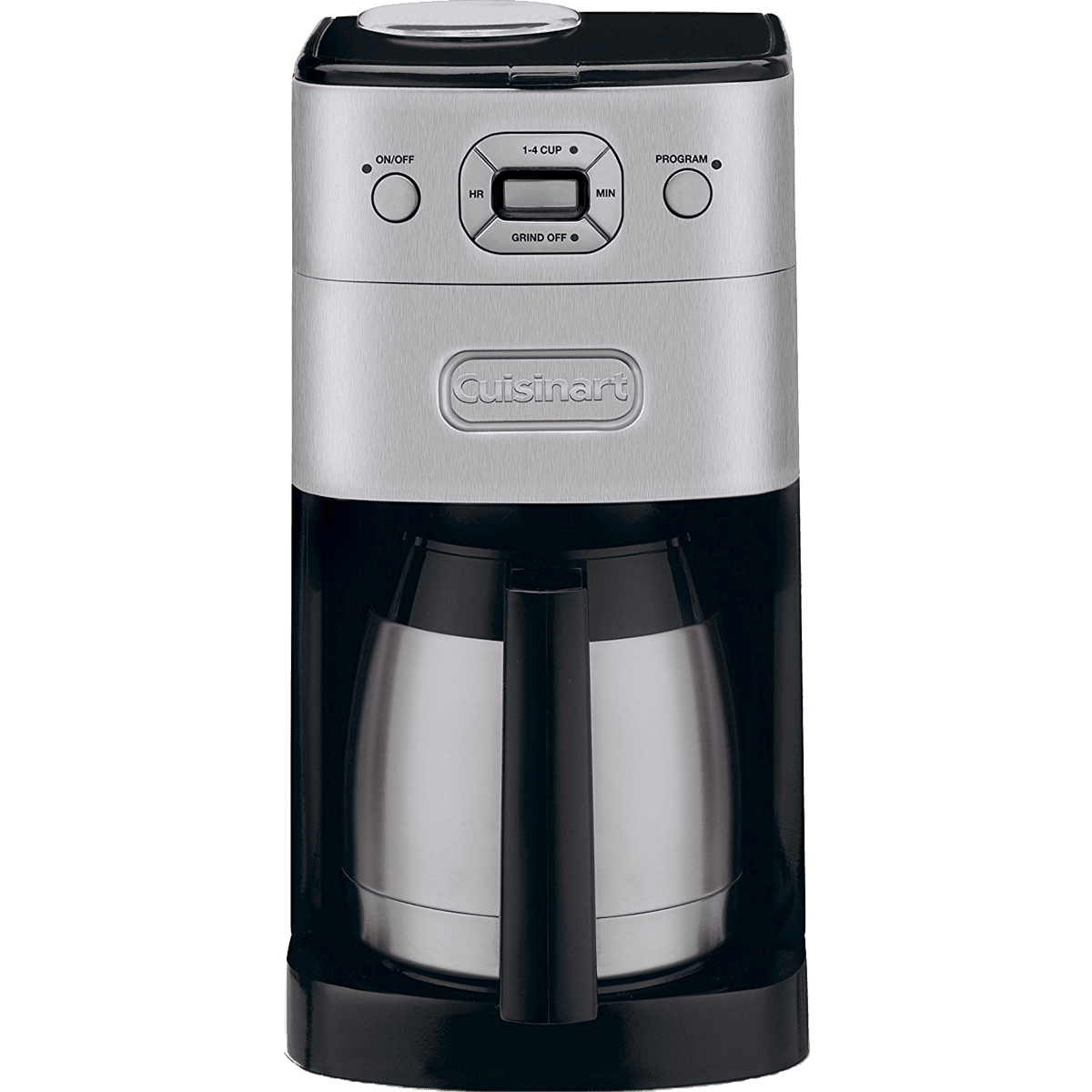 Cuisinart Grind & Brew Coffee Maker (DGB-625BC) Quench Essentials