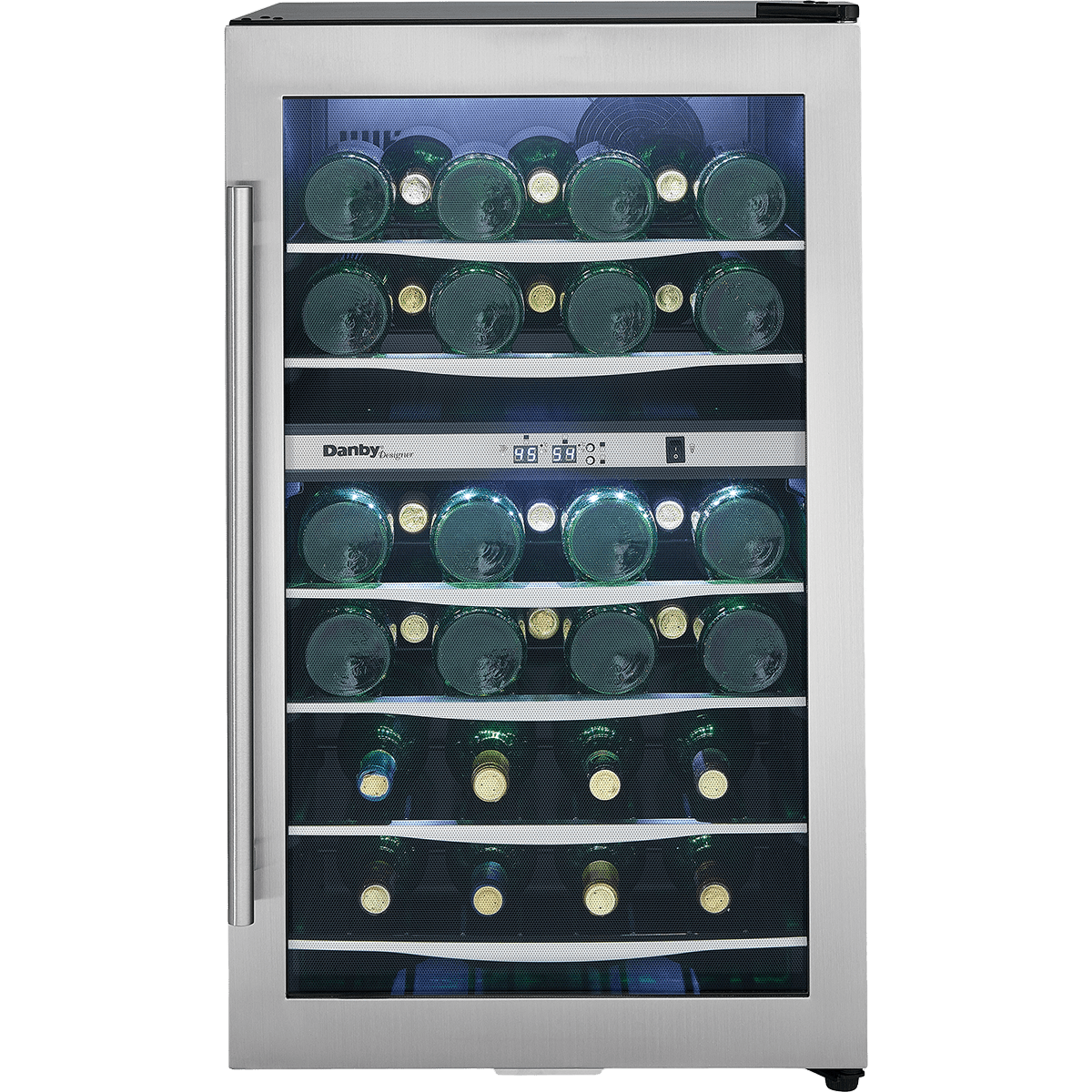Danby Designer 38 Bottle Dual Zone Wine Cooler Quench