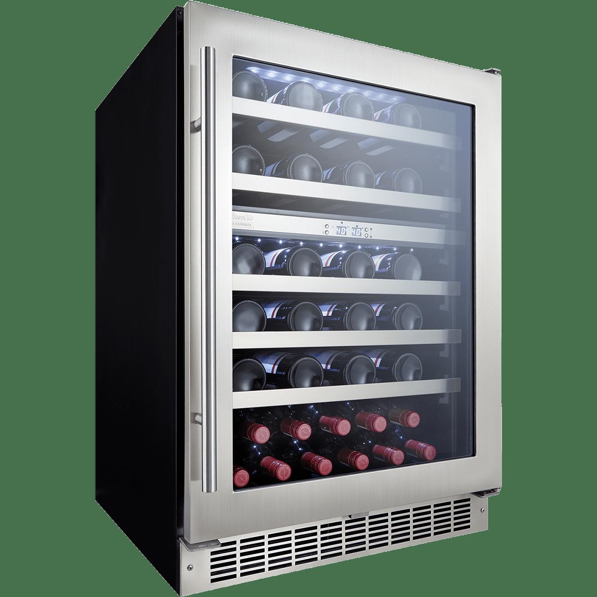 Silhouette Dwc053d1bsspr Sonoma 51 Bottle Wine Cooler
