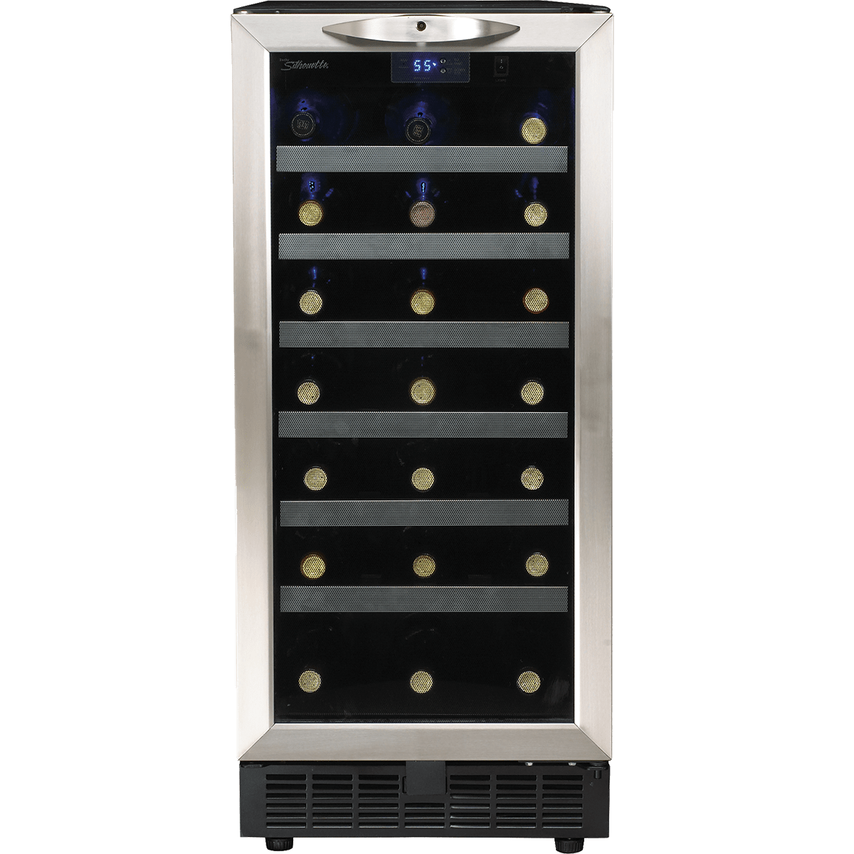 Silhouette Dwc1534bls Cheshire 34 Bottle Wine Cooler
