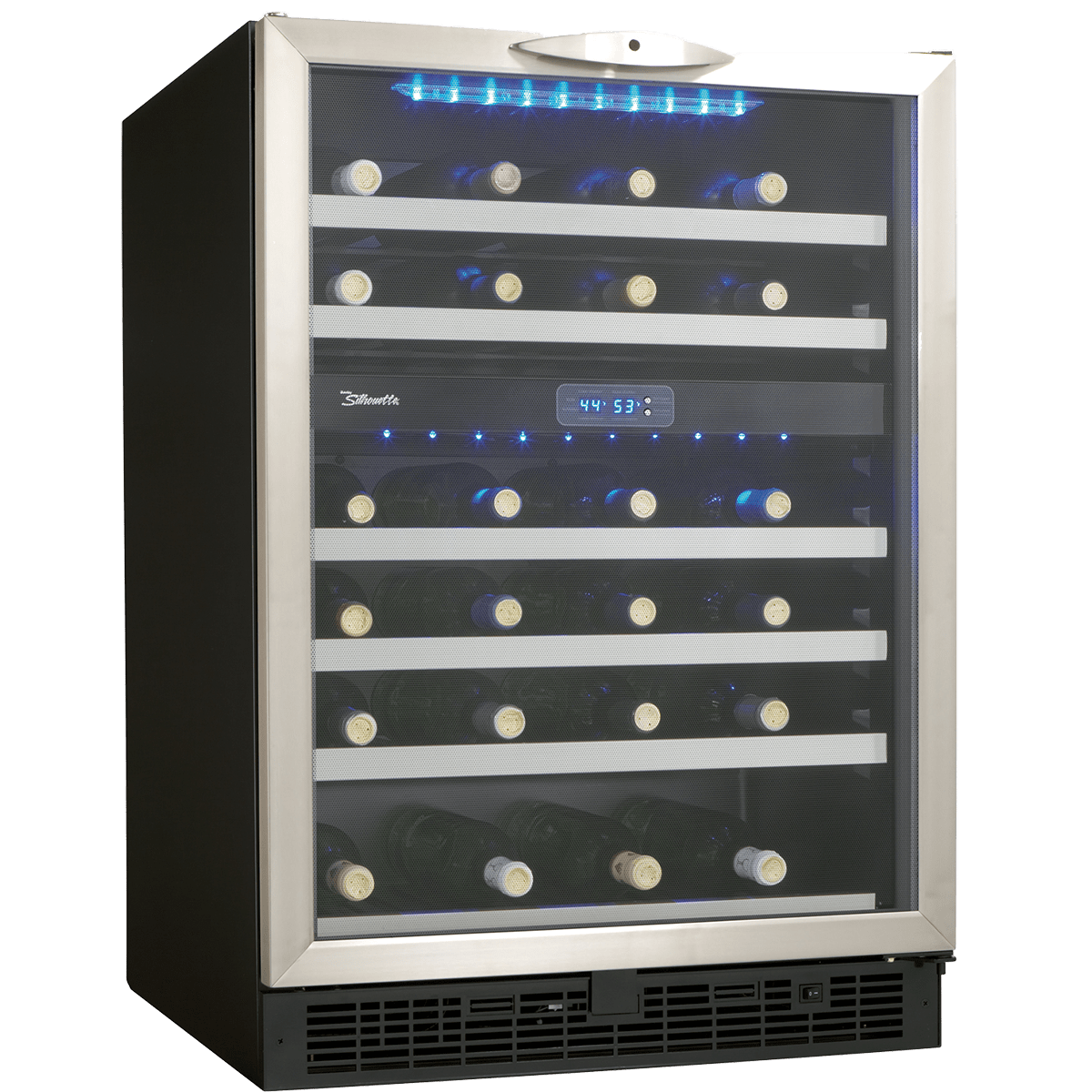 Silhouette Dwc518bls Stilton 51 Bottle Wine Cooler