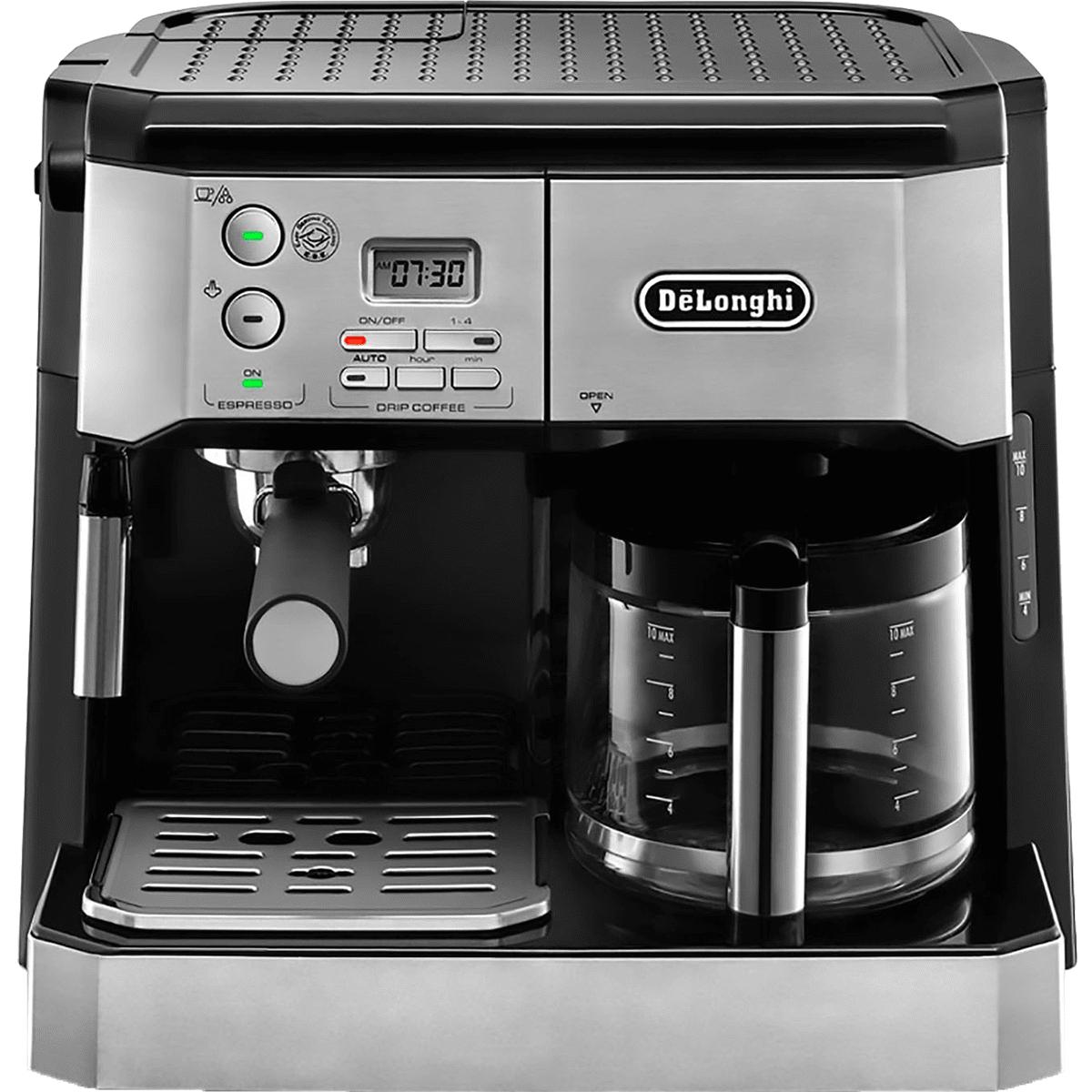 DeLonghi Combination Espresso Machine & 10 Cup Coffee Maker - BCO430