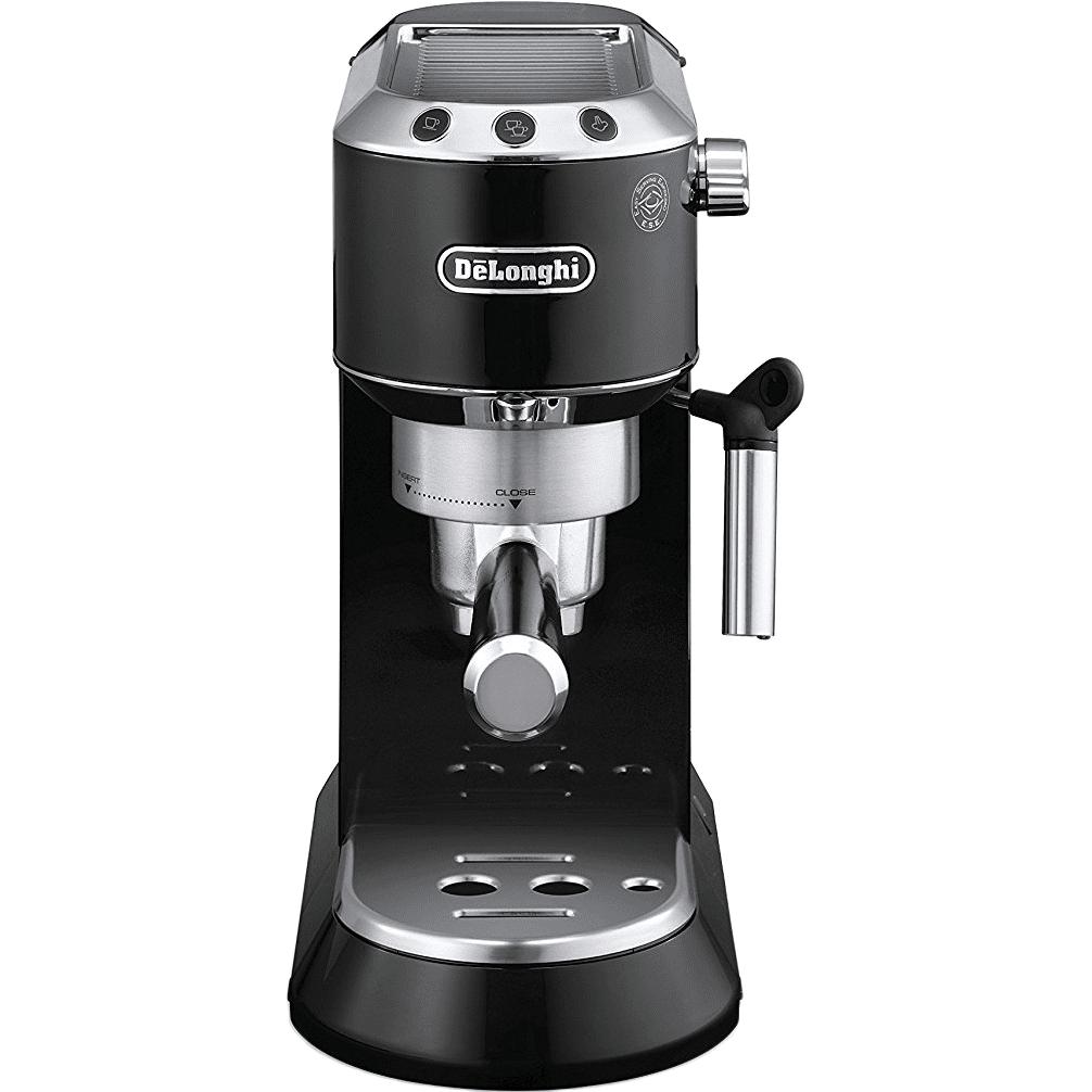 DeLonghi EC680 DEDICA Pump Espresso Machine - Black