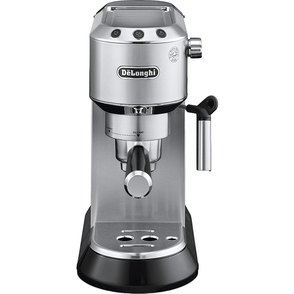 DeLonghi EC680 DEDICA Pump Espresso Machine - Stainless