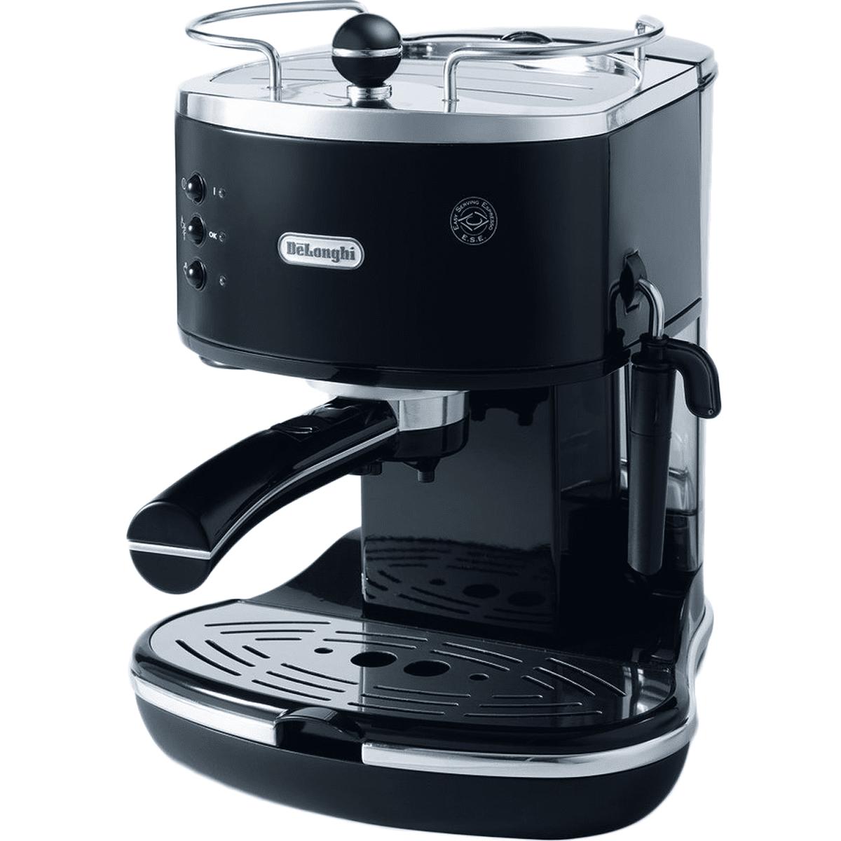 DeLonghi ECO310 Icona Manual Espresso Machine Black - ECO310BK