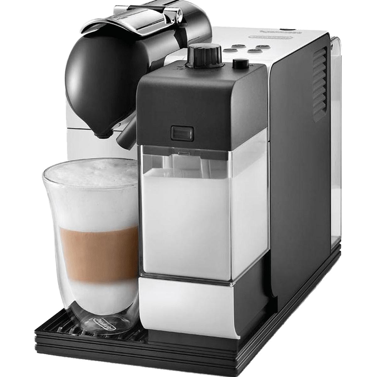 DeLonghi EN520 Lattissima Capsule Espresso Machine White - EN520W