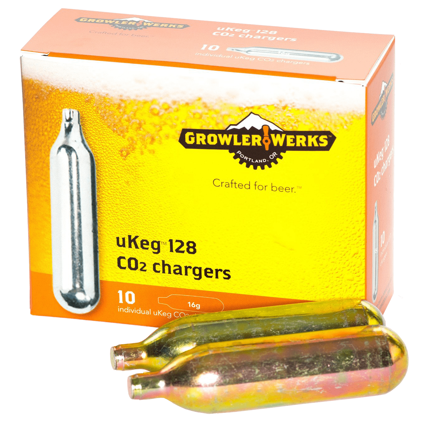 GrowlerWerks 16 Gram Co2 Refill Cartridges