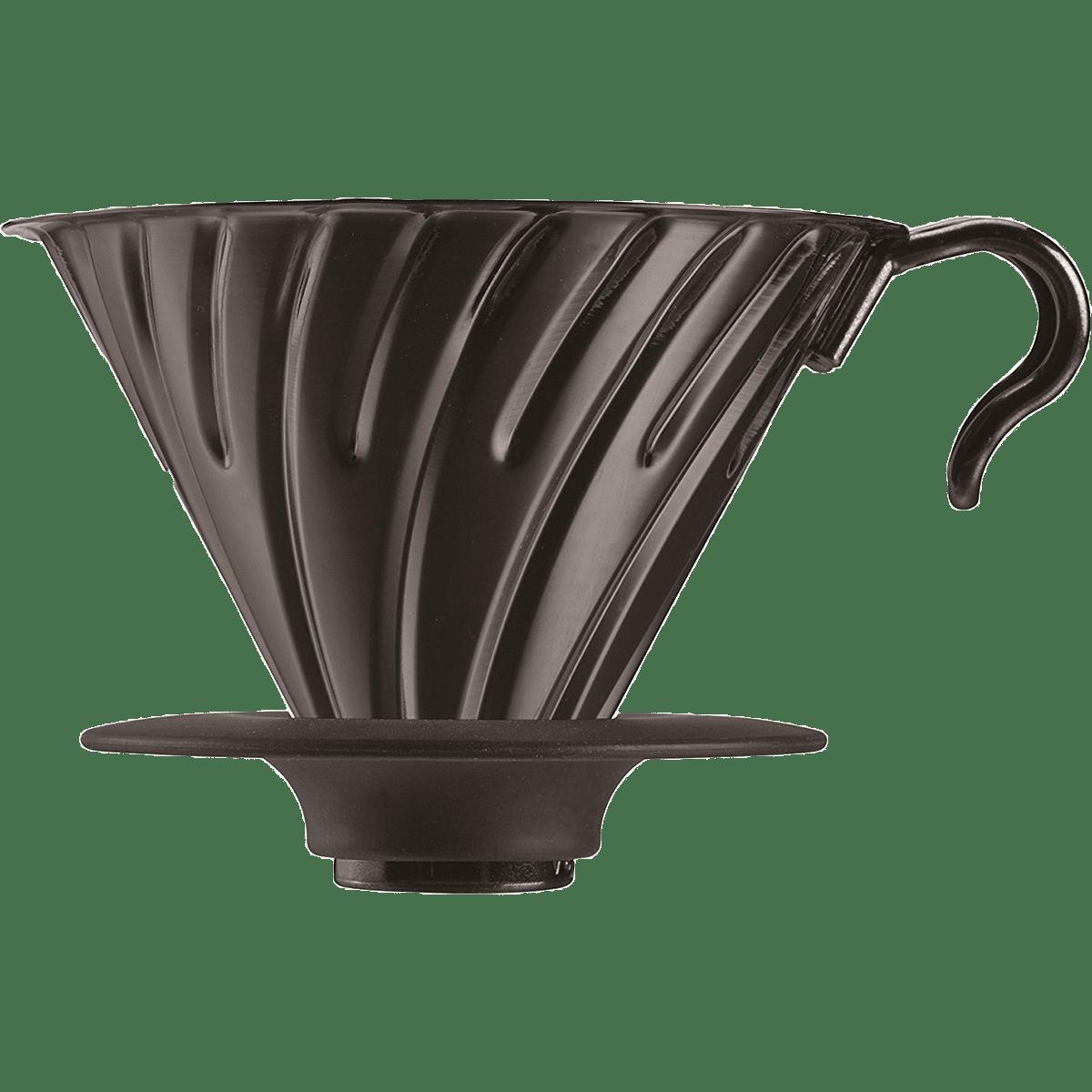 Hario V60 Metal Coffee Dripper Quench Essentials Drip Thermometer Vtm 1b Black