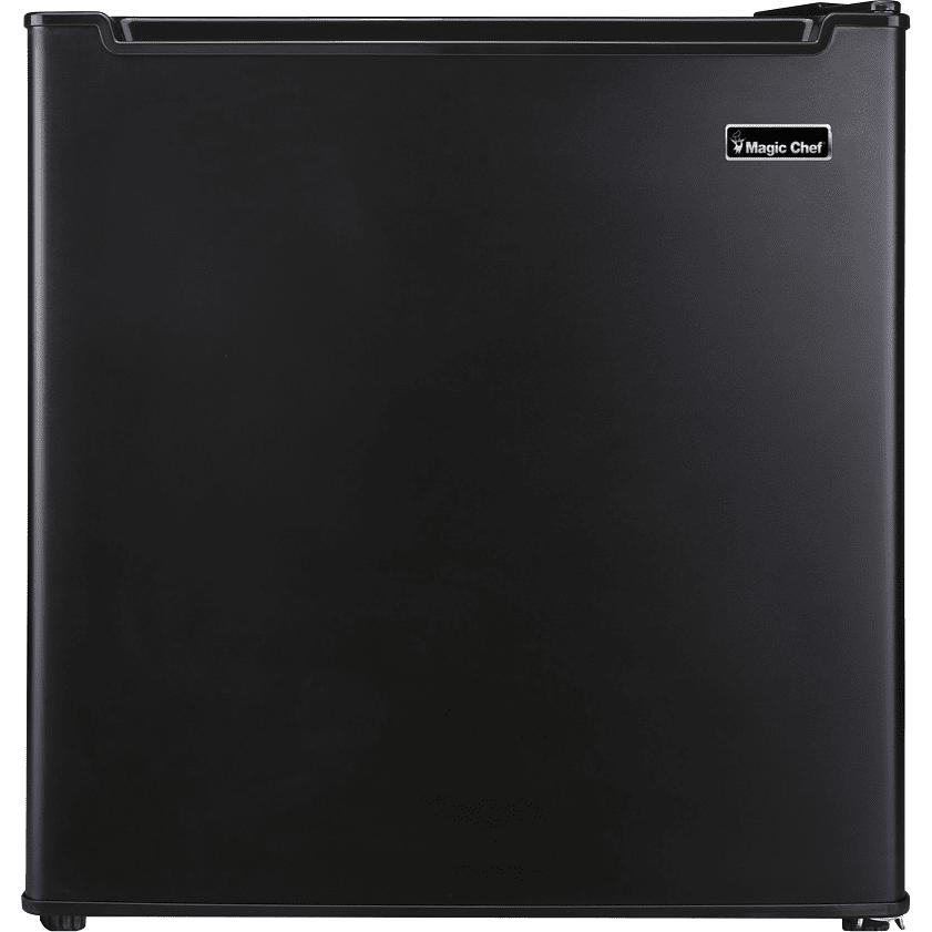 Image of Magic Chef 1.7 Cu. Ft. Energy Star Mini Refrigerator w/ Freezer Compartment - Black