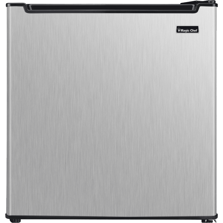 Image of Magic Chef 1.7 Cu. Ft. Energy Star Mini Refrigerator - Stainless Steel