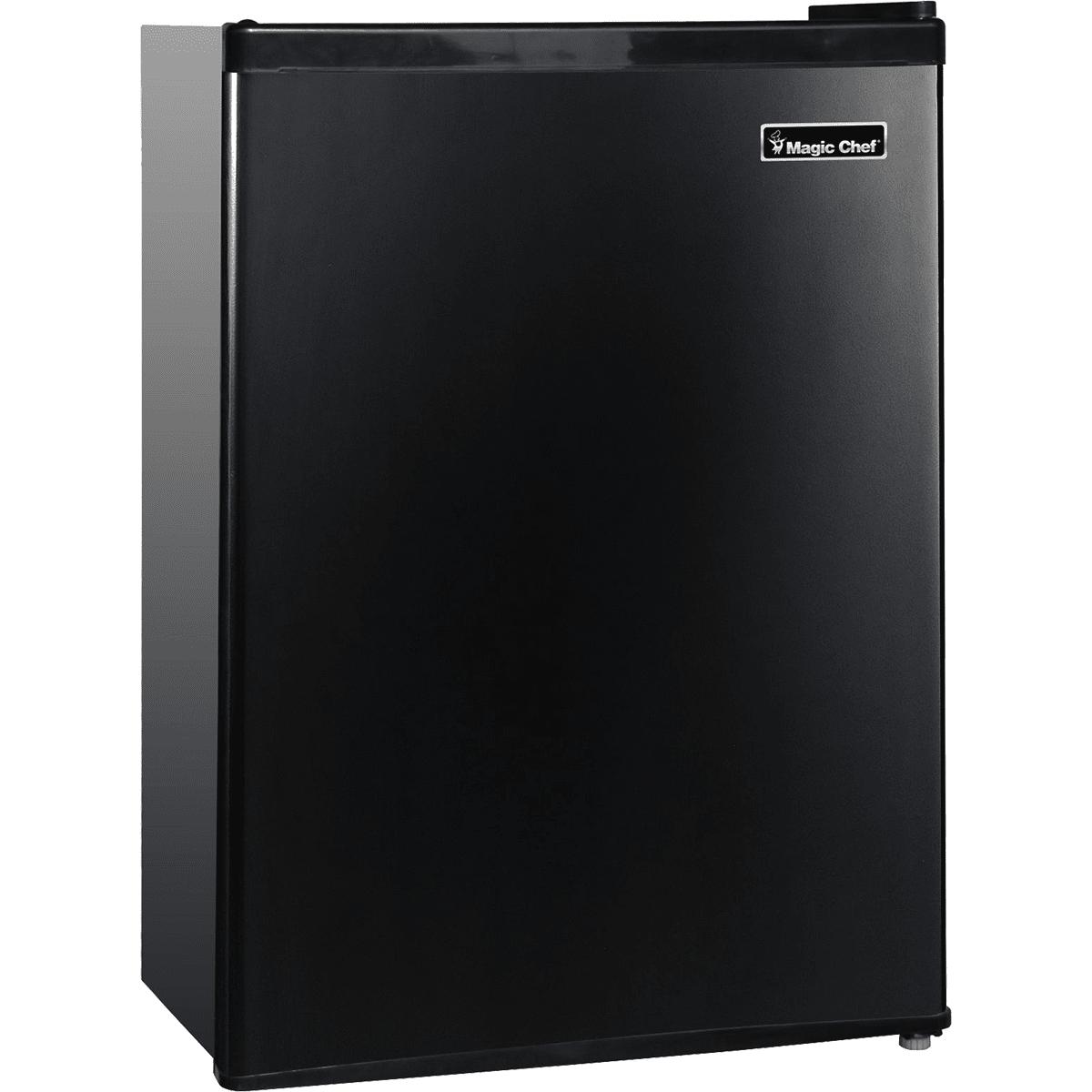 Image of Magic Chef 2.4 Cu. Ft. Mini Refrigerator w/ Half-Width Freezer - Black
