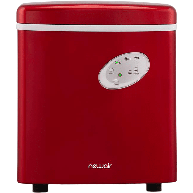 Image of NewAir 28 lb Daily Production Portable Ice Maker - Red