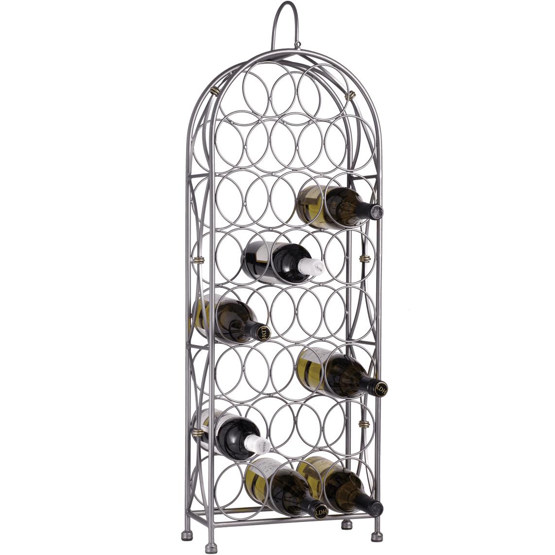 Oenophilia Bordeaux Chateau 23 Bottle Floor Wine Rack