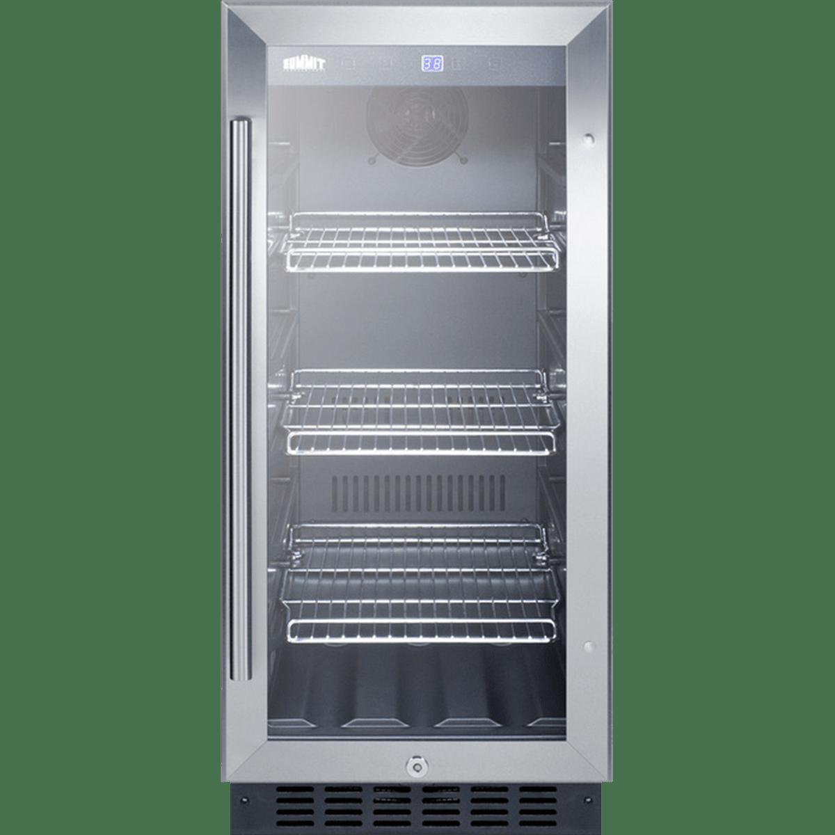 Summit 15 Inch Built In Beverage Cooler Scr1536bg