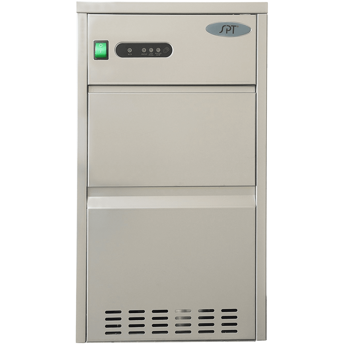 Image of Sunpentown 44 Lb. Automatic Stainless Steel Ice Maker (IM-441C)
