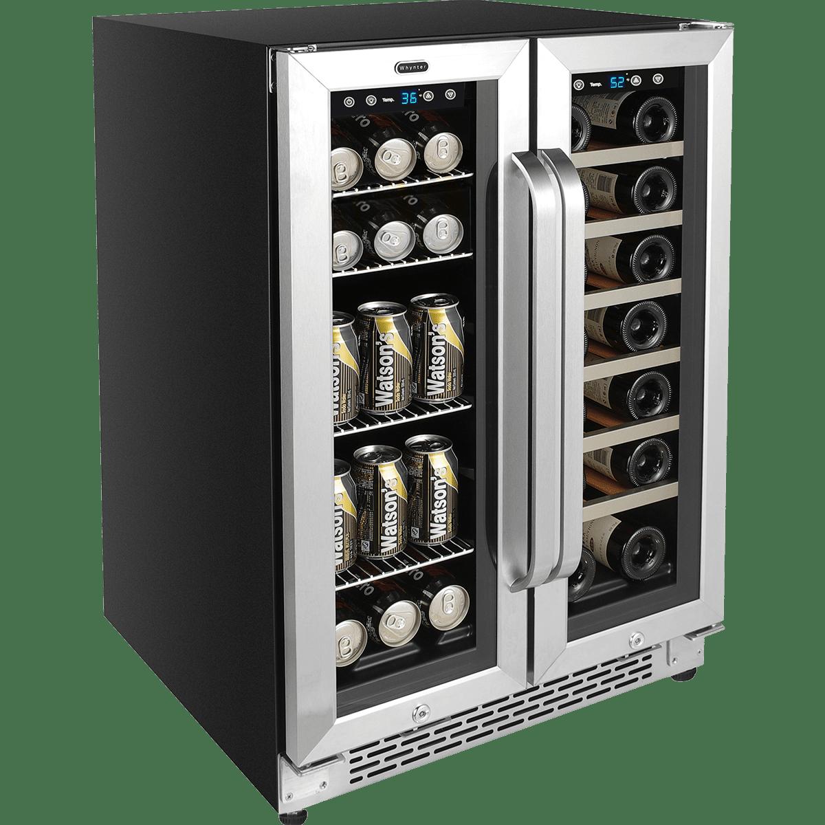 Whynter Built-In French Door Dual Zone Wine Cooler Beverage Cooler (BWB- 801c41129