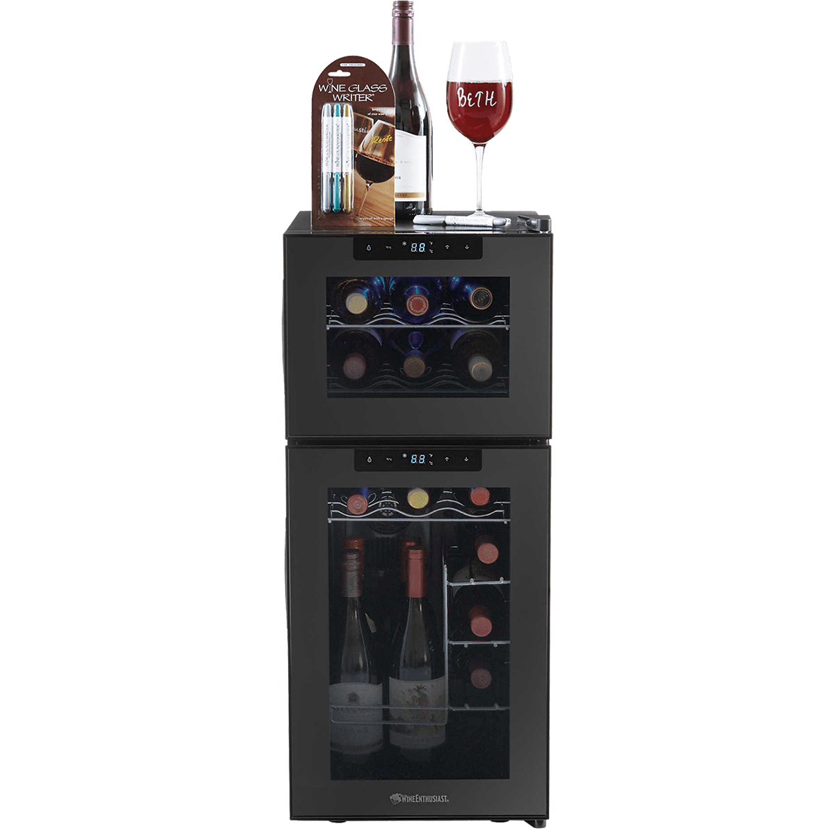 Wine Enthusiast 21 Bottle Thermoelectric Wine Cooler